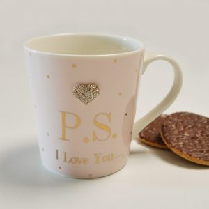 P.S. I Love You Fine China Mug