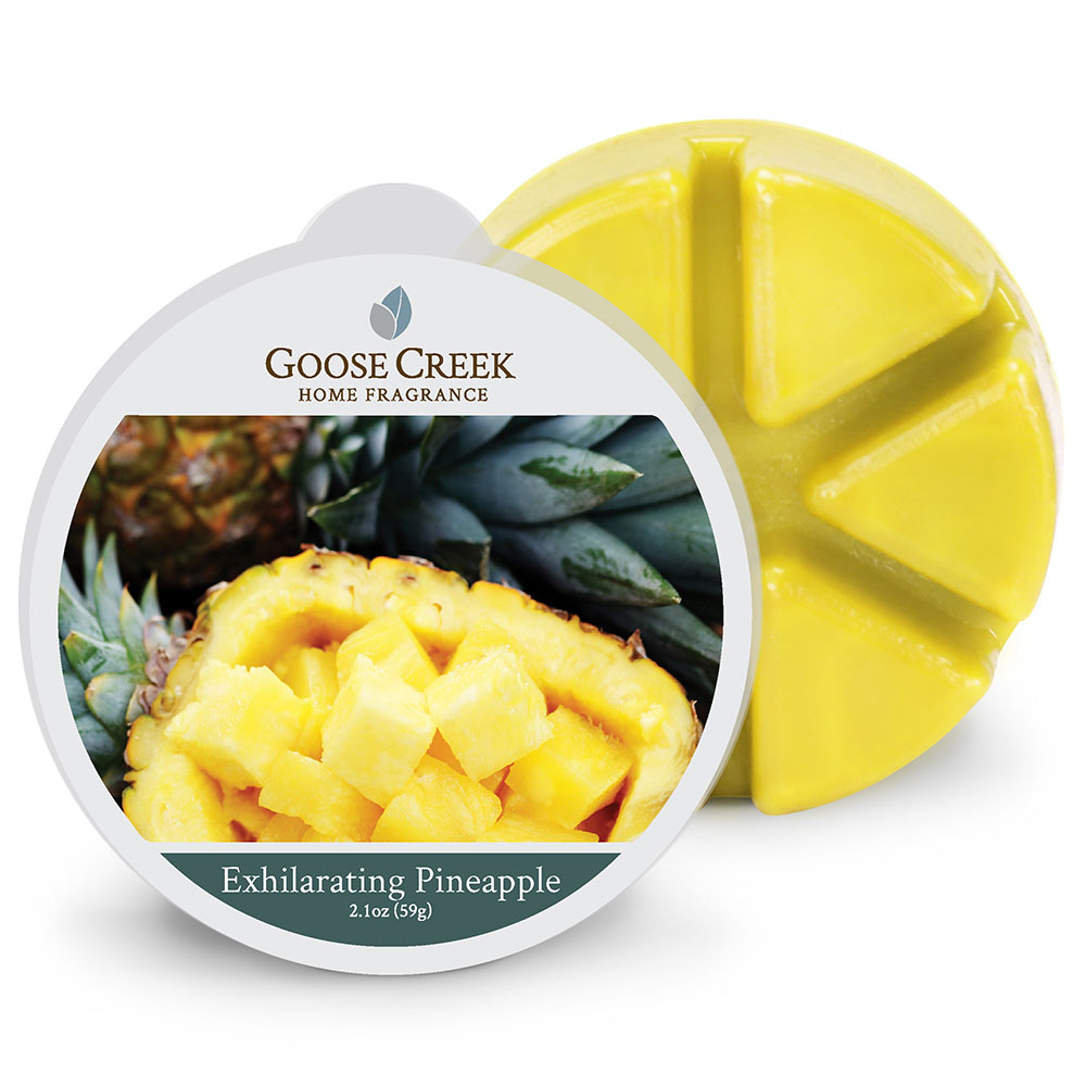 Goose Creek Exhilarating Pineapple Wax Melts