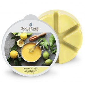 Goose Creek Lemon Vanilla Cake Batter Wax Melts