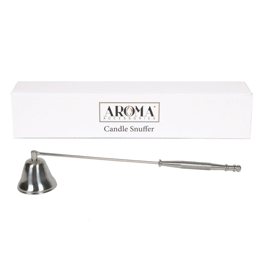 Aroma Silver Bell Shaped Candle Snuffer