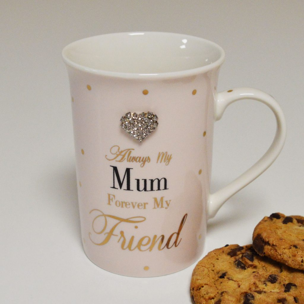 Always My Mum Forever My Friend Mug