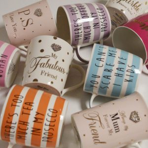 Fine China Mug Collection