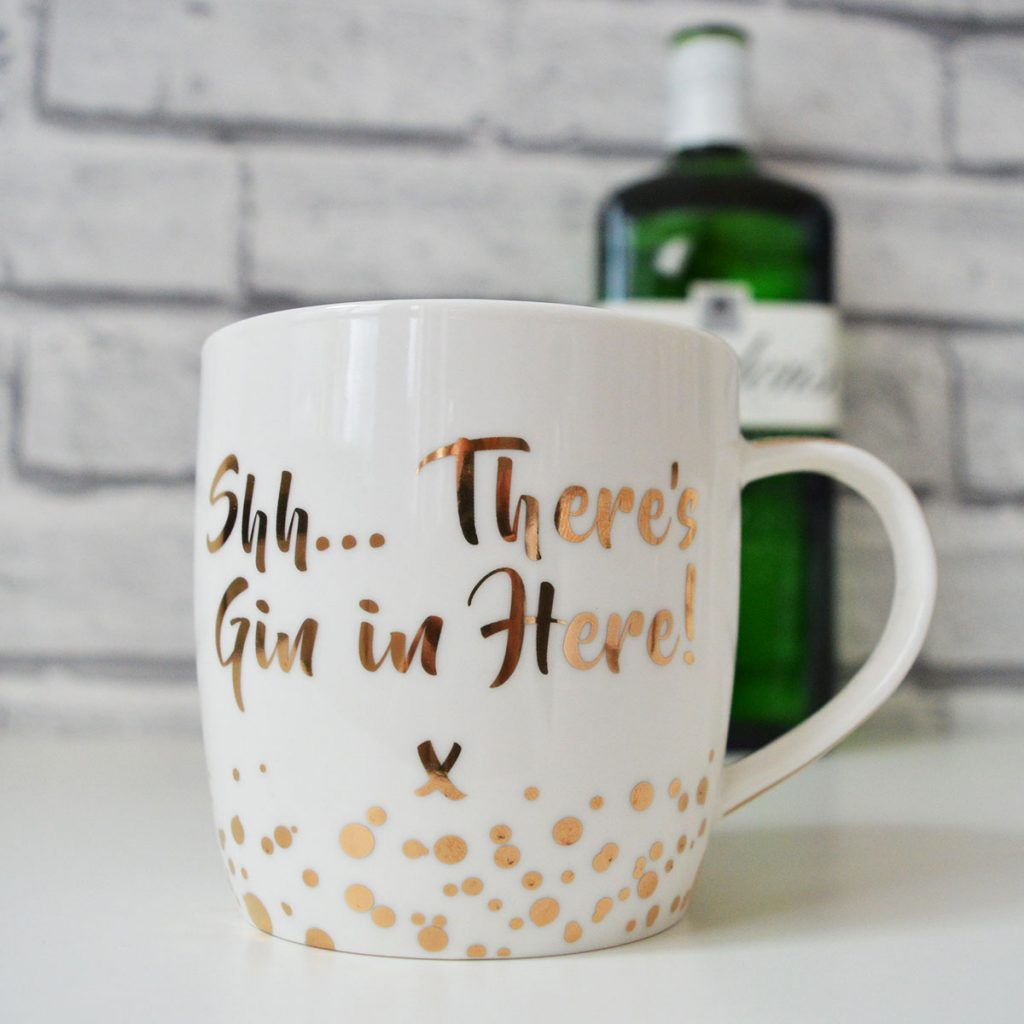 Shh..There's Gin In Here Mug