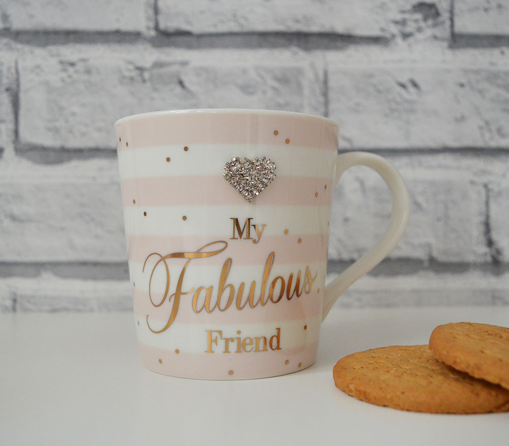 Mad Dots My Fabulous Friend Mug